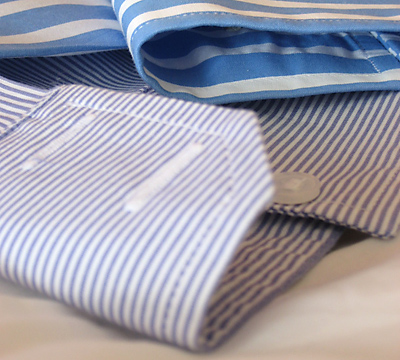 Shirt drycleaning at Park Drycleaners